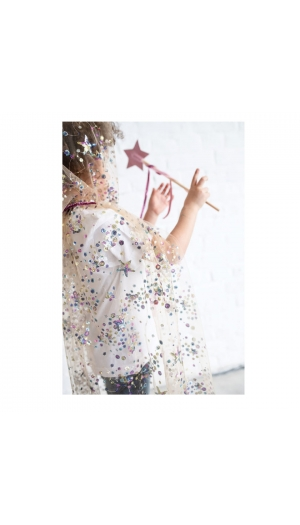 CAPE FEE BRODEE SEQUINS